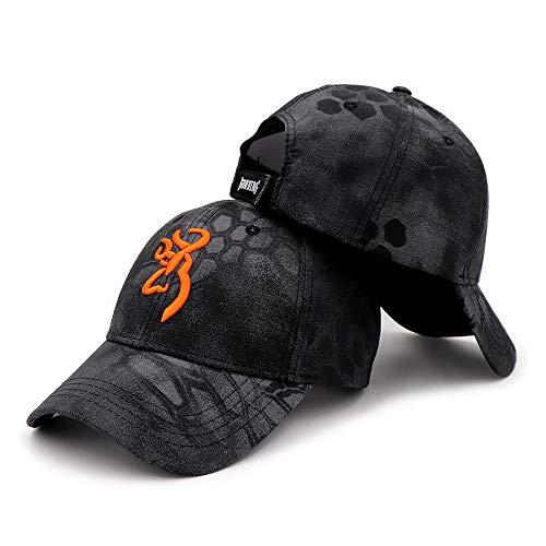 WEMAO Colores Deportes Unisex Camping Camuflaje Cap Browning Béisbol Caza Gorros de...