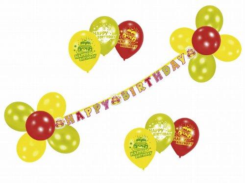amscan - 450283 - Ballons et Guirlande Happy Birthday