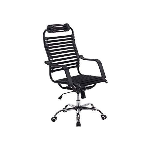FENXIXI Verano transpirable banda elástica banda de goma silla de la salud silla de la computadora silla del respaldo del hogar silla giratoria