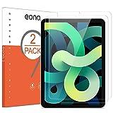 Eono by Amazon - [2 Stück] Schutzfolie kompitabel mit iPad Air 2020 & iPad Air 4 (10,9 Zoll), 2.5D, 9H, Anti-Kratzen,Anti-Bläschen,Hülle Fre&llich