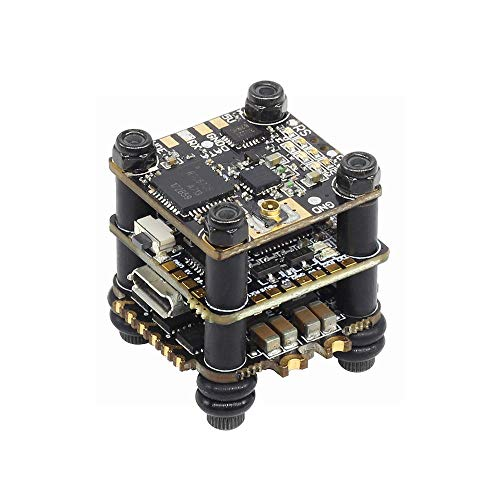 GoolRC HGLRC FD413-VTX Stack Combined with 16x16 2-4S F411 Flight Controller FD Micro VTX and FD13A BLS 4in1 ESC for FPV Racing Drone