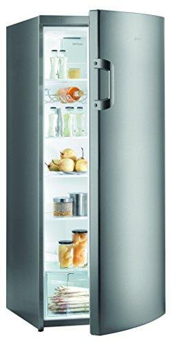 Gorenje R6152BX Kühlschrank / A++ / Höhe 145 cm / Kühlen: 302 L / Grau metallic / Umluft-Kühlsystem / 5 Glasabstellflächen