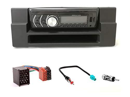 R1-012-3-67 Autoradio Bluetooth USB avec Adaptateur ISO pour 5 (E39) 1995-2003 et X5 (E53) 1999-2006