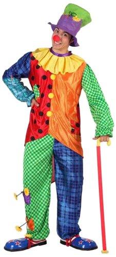 Atosa - 12359 - Costume - Déguisement De Clown Adulte - Taille 4
