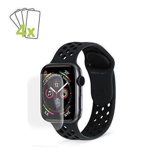 Artwizz ScratchStopper Curved Displayschutz Designed für Apple Watch SE / 6/5 / 4 (40 mm) - Ultra-dünne, Wasserfeste Displayschutzfolie mit 100% Display-Abdeckung