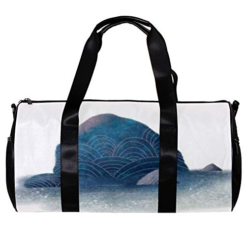 Anmarco Duffel Bag for Women Men Gulf Reef Sports Gym Tote Bag Weekend Overnight Travel Bag Outdoor Luggage Handbag