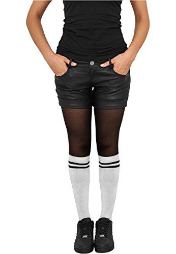 Urban Classics TB770 Ladies College Socks Calze Woman Size 40-42 White Black