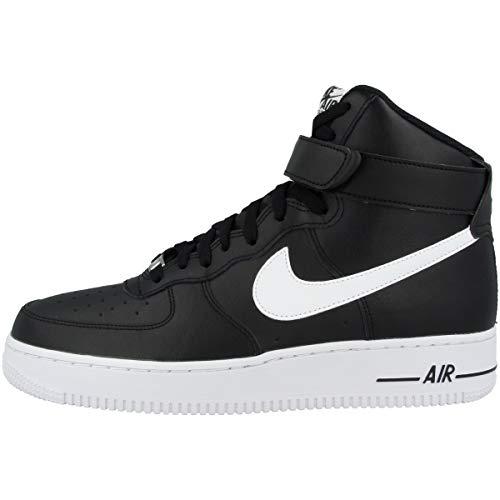 Nike Mens CK4369-001_42,5 Sneaker, Black, 42.5 EU