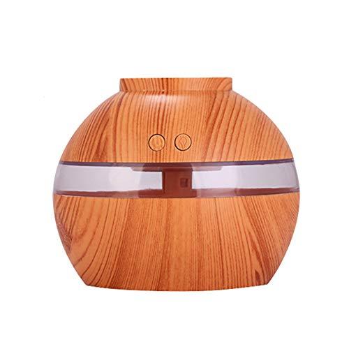UEVOS Luftbefeuchter leise, tragbar und langlebig, Duftspender für ätherische Öle, LED, Aroma Therapy, 300 ml, gelb, one Size