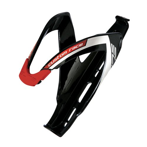 Elite - Porta Borraccia Elite Custom Race Nero Logo Rosso