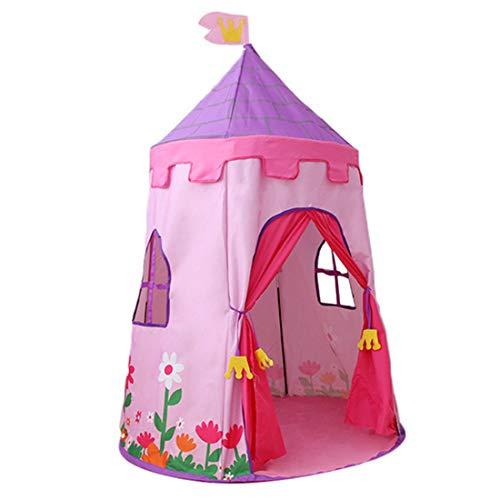 MZYKA Infantil Cubierta Tienda de Juego, la Muchacha del bebé del Sitio casero de la casa del Juguete, Entretenimiento Castillo, Regalos de cumpleaños de los niños, Rosado