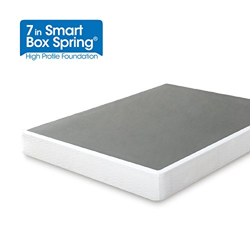 Zinus Armita 7 Inch Smart Box Spring / Mattress Foundation / Built-to-Last Metal Structure / Easy Assembly, Full