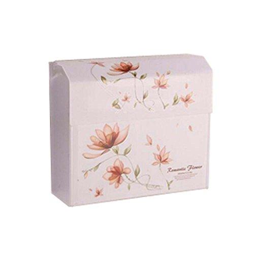 Les porteurs de tissus imperméables de porte-papier WC (de 25x8.7x22cm)