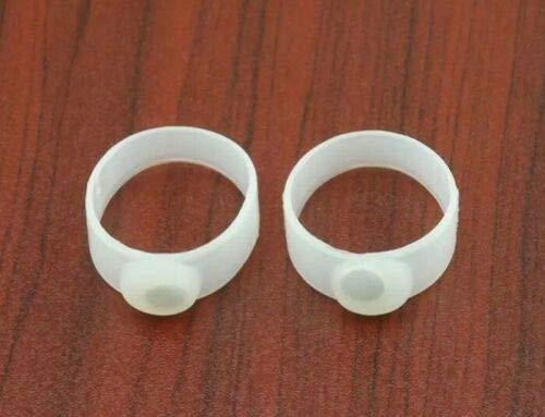 HoitoDeals Zehenring aus weichem Silikon, magnetisch, hält schlank, für Gewichtsverlust, Diät, 5 Paar