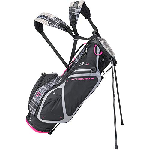 Sun Mountain 2019 Womens 3.5 Ls Stand Bag Black/Pink