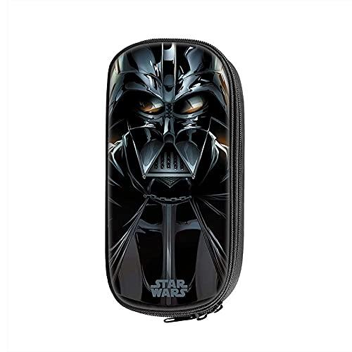 Anakin Skywalker/Darth Vader - Estuche para lápices, 21,5 x 10 x 5,5 cm, ideal para hombres y mujeres