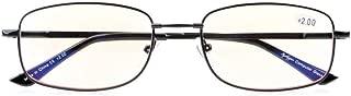 Memory Bridge Computer Glasses Anti Blue Ray Eyeglasses for Men Reading Gaming