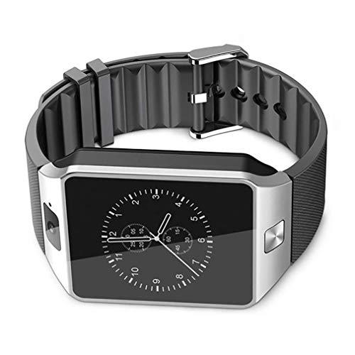VHNBVHGKGHJ DZ09 Smartwatch Reloj Inteligente Reloj Digital Negro