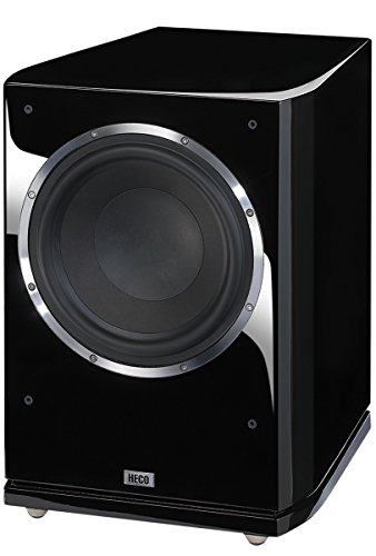 HECO Celan GT SUB 322A Piano Black Frontfire Aktiv-Subwoofer