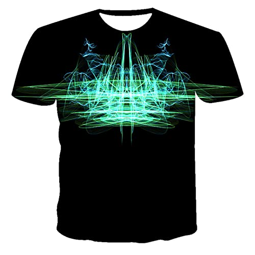 SSBZYES Camiseta para Hombre Verano De Manga Corta Camiseta De Talla Grande para Hombre Camiseta De Cuello Redondo Camiseta De Manga Corta Estampada para Hombre Camiseta Deportiva Informal Top