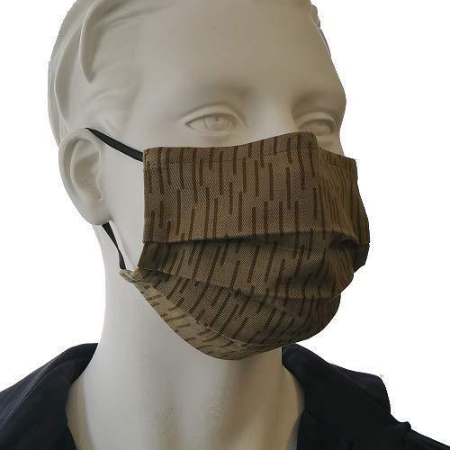 Tank Ware Camouflage Gesichtsmaske original NVA Strichtarn, deutsche Handarbeit
