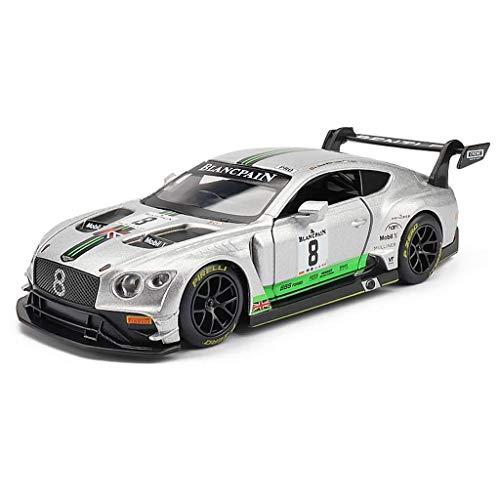 Modelo de coches - colección de juguetes for adultos / niños, 1:32 Continental GT3 coche modelo de simulación de aleación modelo de coche de los ornamentos, de acabado del modelo del coche / decoració