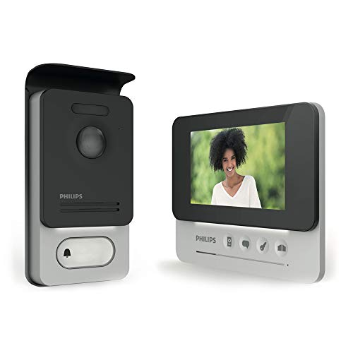 "PHILIPS WelcomeEye COMPACT -Videosprechanlage - 2 Draht Technik - 4,3"" Display DES 9300 VDP"