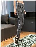 MedusaABCZeus Leggings Mallas para Running Training Fitness,Pantalones de Cadera Ajustados y Sexy de Cintura Alta Pantalones de Yoga-B_S,Yoga Slim Fit Pantalones Largos Pantalones Leggings