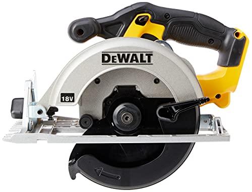 DEWALT DCS391N-XJ XR 165 mm Circular Saw-Bare Unit, 9 W, 18 V, Yellow/Black