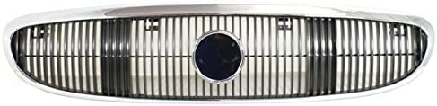 Koolzap 送料無料お手入れ要らず 開店祝い For 03 04 05 Century Grille Assembly Chrome Front Grill