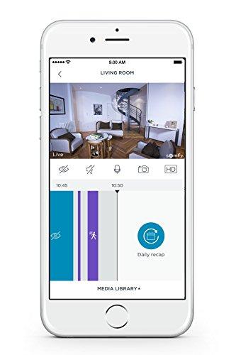 Somfy One : Caméra de surveillance sans fil avec sirène 4