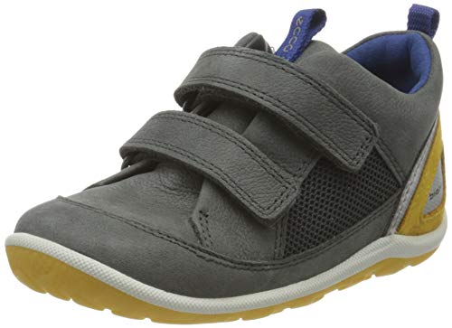 Ecco Baby Jungen BIOMMINISHOE Sneaker, Grau (Dark Shadow 2602), 24 EU