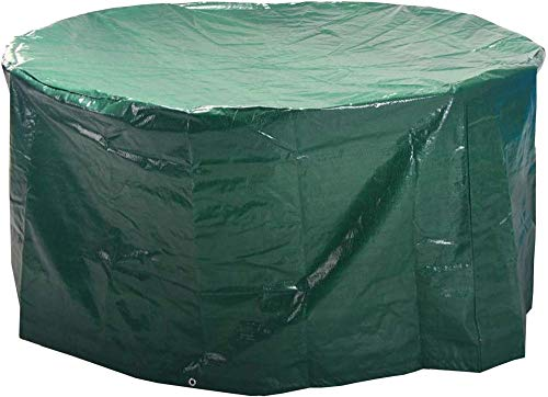 asdasd furniture cover Large Patio Cover Set Outdoor Waterproof Dust Proof Rectangular cover - Size 2.8 M x 2.04 M x 1.06 M / 9.2 ft x 6.7 ft x 3.48 ft-Green-round