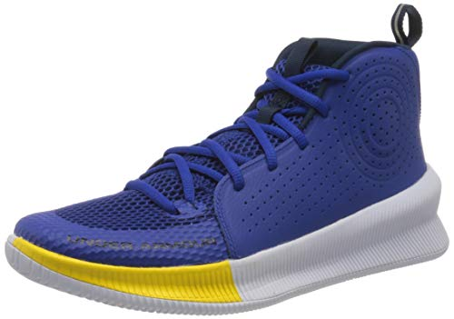 Under Armour Jet, Zapatillas de básquetbol Hombre, Royal/Blanco/Taxi (403), 40 EU
