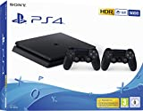 PlayStation 4 Slim 500GB F Chassis, Jet Black + 2°...