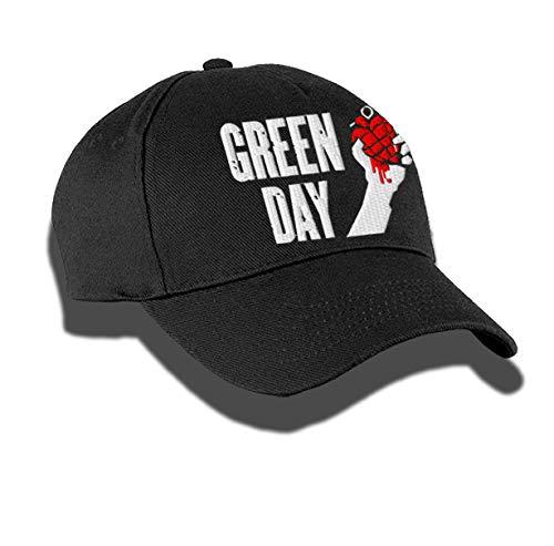 Teeempire Gorra Bordado de Diseño Green Day Desing...