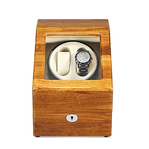 YZSHOUSE Caja de Relojes Automaticos Estuche para 2+ 3 Relojes para Relojes Caja Relojes 5 Velocidades Almohadilla Desmontable PU Super Silencioso Caja Organizadora de Relojes Hombre Mujer