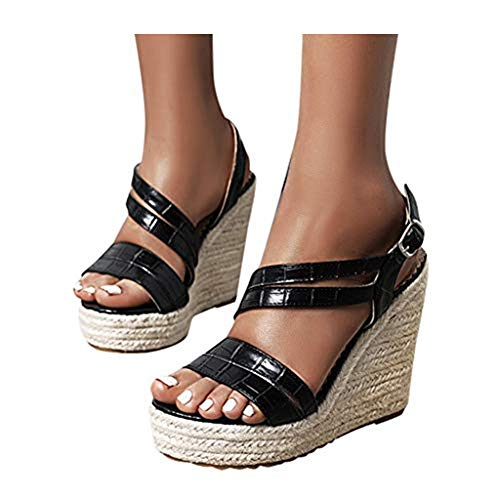 Sandals for Women Dressy Wide Women Lace up Flat Sandals Gladiator Knee High Boots Sandals Summer Toe Ring Strappy Sandals Casual Wedge Sandals Black