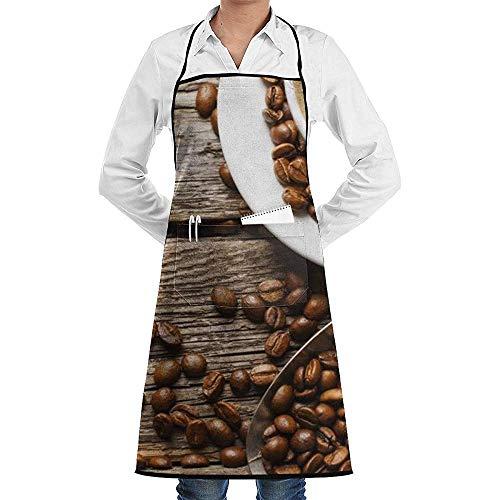 JESSA Duftende Kaffee-Lätzchenschürze zum Kochen der Küche Backen BBQ Duftender Kaffee