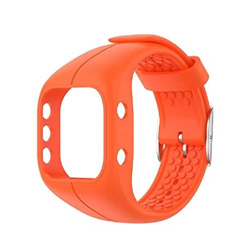 EATAN Correa de reloj de repuesto ajustable de silicona suave para Polar A300 nato correa de reloj 20mm