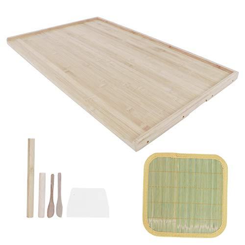 Tabla de cortar, alfombra de amasar de bambú de doble cara, para el hogar