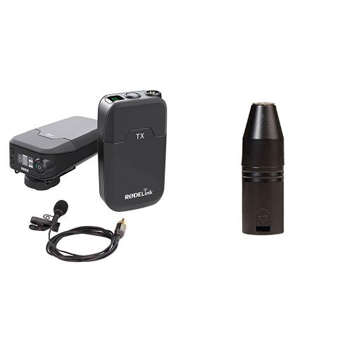 Rode 400836010 Link Filmmaker Kit + Røde VXLR 3,5mm Miniklinke-XLR-Adapter Bundle
