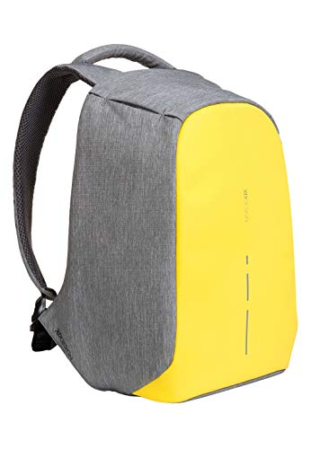XD Design Bobby Compact Mochila Antirrobo Portátil Amarillo (Bolsa USB)