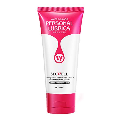 Premium lubricant, water-based, long-term pleasure, sensitive,Natural Lubricant for Him and Her, Anal Sex, 60 ml