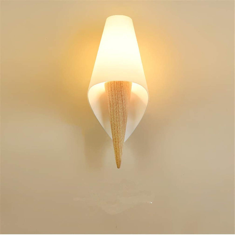 Jingya Moderne Wandleuchte, einfache japanische Glas Wandleuchte, geeignet für Wohnzimmer, arbeitszimmer, nachttischlampe dekorative Lampe
