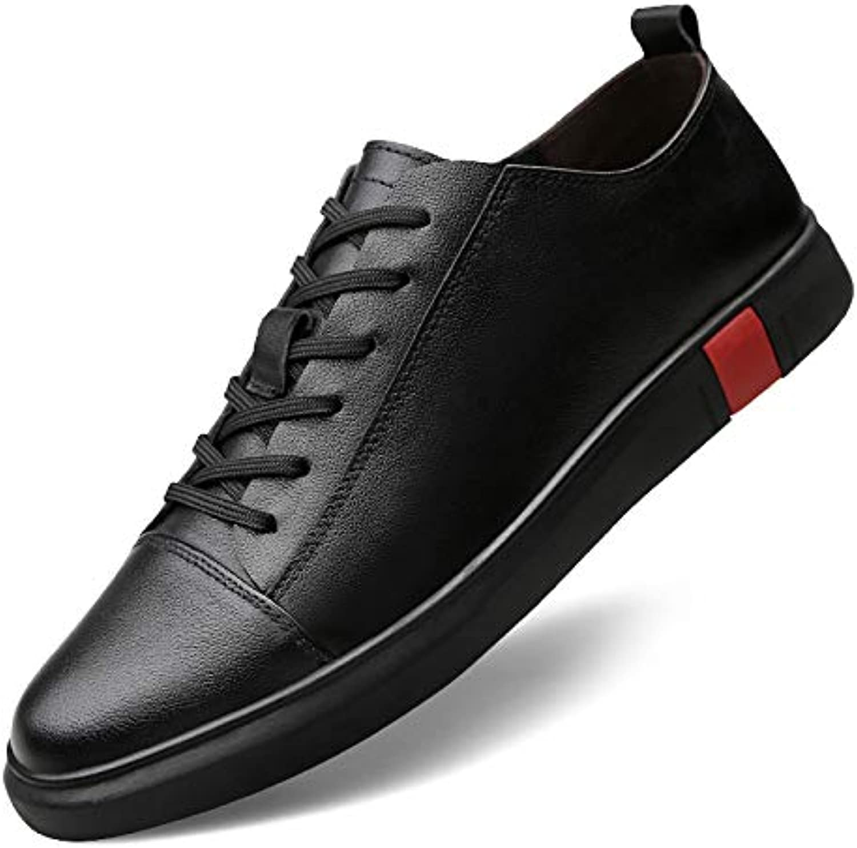 LOVDRAM Men'S shoes Top Layer Leather Men'S Casual shoes Fashion shoes Large Size shoes Men'S shoes