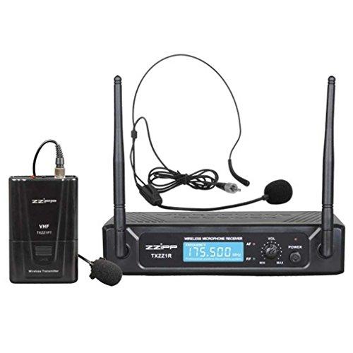 MONACOR - Mixer pour VHF serre-tête de microphone sans fil 175.50 mhz - TXZZ111