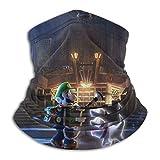 Lui-gi's Man-sion - Funda para bufanda de 3 cuello, máscara para pesca, motociclismo