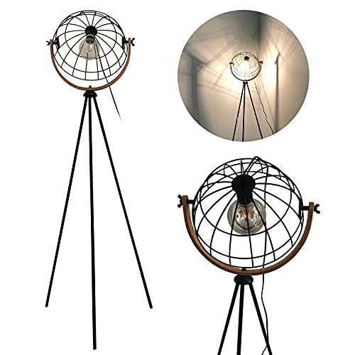 Lámpara de pie Vintage,ajustable lampara pie industrial, Moderna 149 lampada pie ,1x...