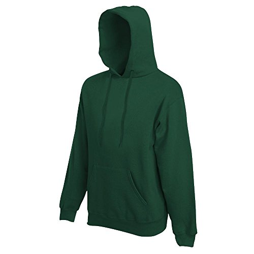 Fruit of the Loom - Kapuzen-Sweatshirt 'Hooded Sweat' XL,bottle green XL,Bottle Green